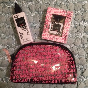 NWT VS Wicked 1oz Parfum, 8.4oz Lotion & Logo Bag